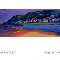 mumbles bay  acrylic 2