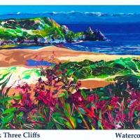 pink three cliffs