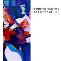feathered headress