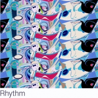 Rhythm fabric