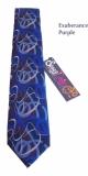 exuberance purple tie
