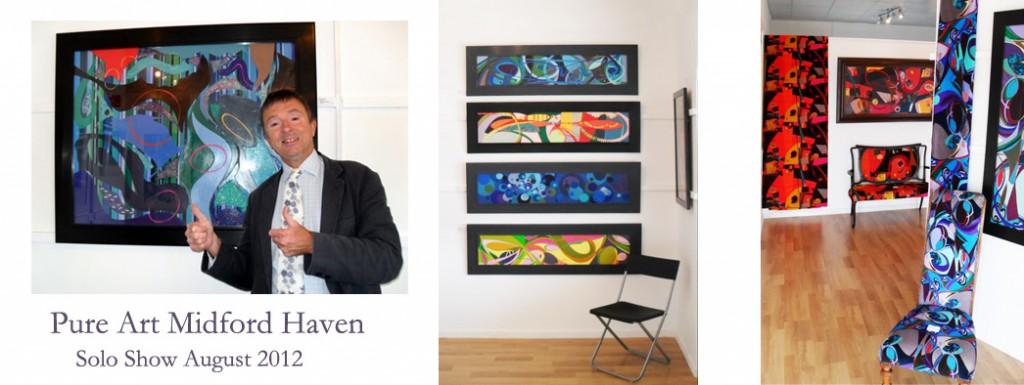 pure art solo exhibiton 2012
