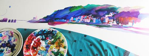 working watercolour dec 2013 mumbles