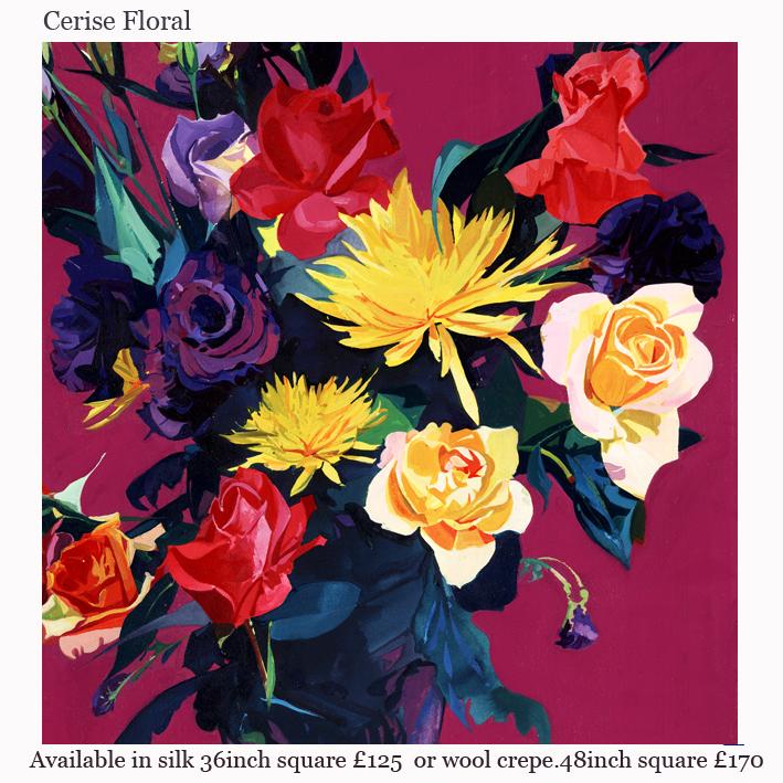 cerise floral