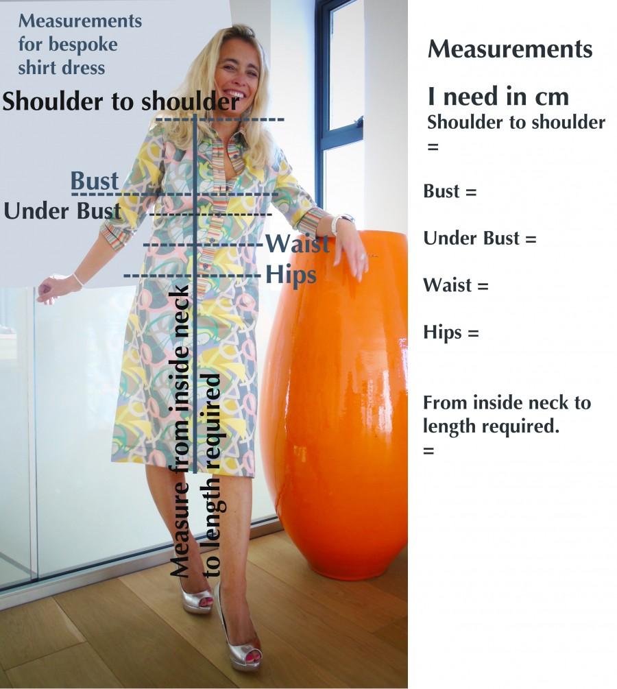 measurement chart 2 cms